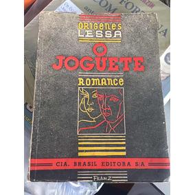 Livro O Joguete - Origenes Lessa - 1937 Raro