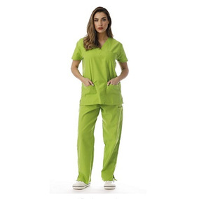 Just Lo Conjunto De Uniforme Enfermera Hospital Color Lime 1