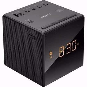Rádio Relógio Despertador Digital Sony Led Am Fm Icf-c1 110v