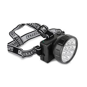 Linterna Minero 12 Leds Luz Lampara Cabeza Recargable