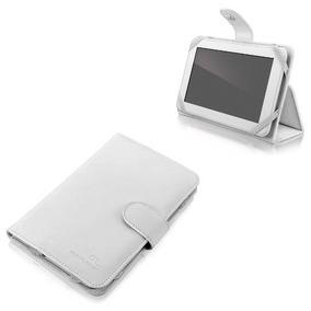 Capa Para Tablet Multilaser 7 Smart Cover Com Suporte Branca