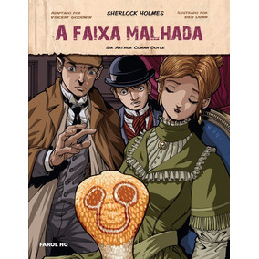 Kit Livros A Faixa Malhada + A Casa Vazia - Sherlock Holmes