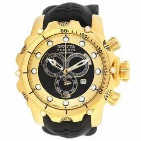 72b5c8c33e1 Linda Mala (maleta) Invicta 3 Relógios (colecinador) Preta ...