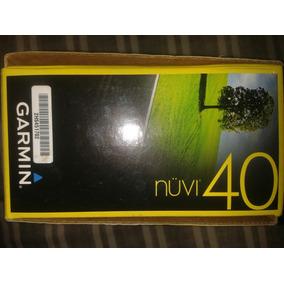 Gps Garmin Nuvi40 + Estuche De Regalo