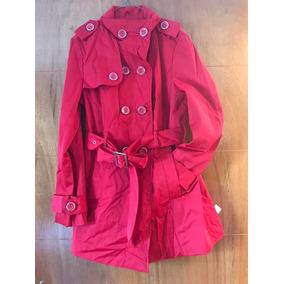 Hermoso Abrigo Rojo Americano Talla M
