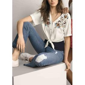235186b31 Calca Hering Malha Azul Ou Calcas - Calças Jeans Feminino no Mercado ...