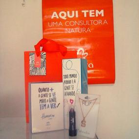 Kit 2 Perfumes + Batom Queen + Correntinha Foleada A Ouro