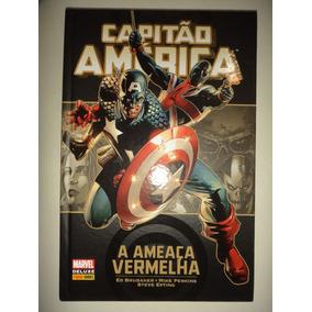 Capitao America Ameaca Vermelha Panini Books De Luxe Excelen