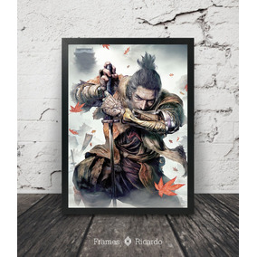 Quadro Gamer Sekiro Shadows Die Twice