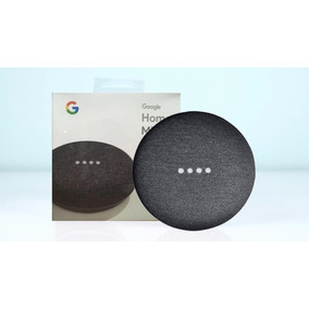 Caixa De Som Speaker Google Home Mini Charcoal Wi-fi Lacrado