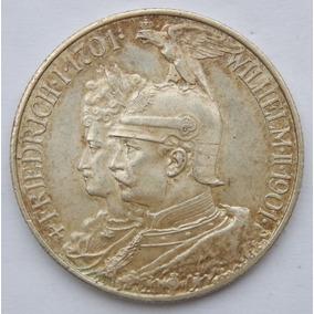 Moeda Império Alemão - Prússia - 2 Mark 1901