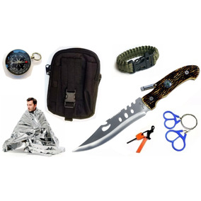 Kit Supervivencia M8027 C Pouch , 5 Acesorios Envio Gratis