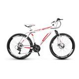 Bicicleta Alfameq Stroll 26 Freio Disco 24 Marchas F Grátis