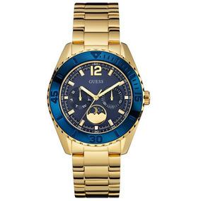 e0b99ae68c8 Relogio Guess Azul E Dourado - Relógios De Pulso no Mercado Livre Brasil
