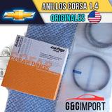 Anillos Corsa 1.4 A 010 Y 030 Original Cofap Mahle