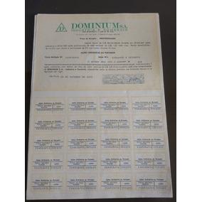 19 Papéis Empresa Dominium