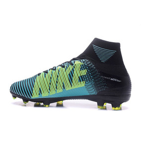pretty nice a0e8b 70453 Tacos Nike Mercurial Superfly V Fg -black   Blue