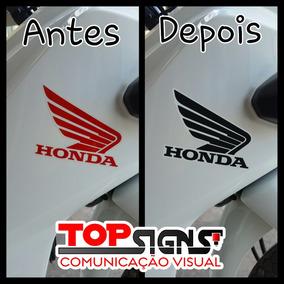 Adesivos Faixas Emblema Honda Pop 110 I 2016