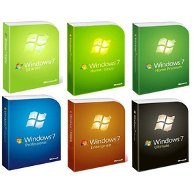Windows 7 Todos Full 32 Bit Y 64 Bit Digital + Activador