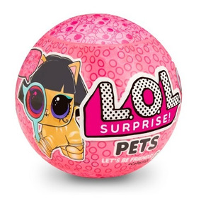 Lol Surprise Bola Pequena Pets Series Eye Spy Original 26b852b7915