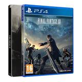 Final Fantasy Xv Steelbook Edition Ps4 Mídia Física
