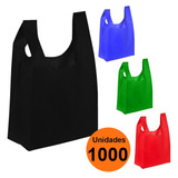 Pack 1000 Bolsa Ecologica 35x20 Tnt Reciclable / Lhua Store
