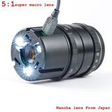X-5 Nanoha 4 X Super Macro Lente Para Sony A5000 A7 A6000...