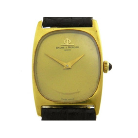 Relógio Baume & Mercier Em Ouro