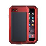 Capa Lunatik Gorilla Glass Anti Shock iPhone 7 Plus Vermelha