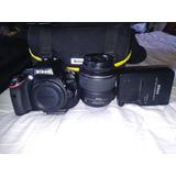 Camara Nikon D5100 ¡¡con Accesorios!!