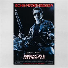 Poster 40x60cm O Exterminador Do Futuro 2 - Terminator 6