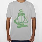 Camiseta Do Símbolo Das Relíquias Da Morte Harry Potter