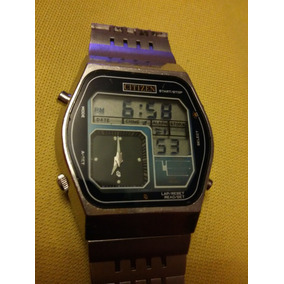 Reloj De Pulsera Vintage Citizen Ana Digi