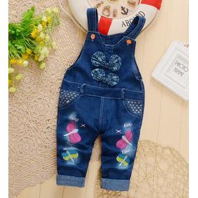 Jardineira Jeans Bebe - Roupas de Bebê no Mercado Livre Brasil d5cfef8f236