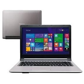 Notebook Positivo Xs7205 I3-4005u 4gb 500gb Wireless Win 8.1