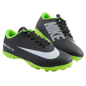 Chuteira Nike Mercurial Vortex Roxo E Verde - Chuteiras de Society ... d0215af76782a