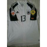 0671c403bb Camisa Da Alemanha 13 Ballack - Futebol no Mercado Livre Brasil