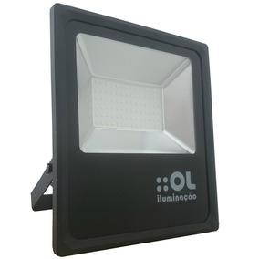 Refletor Led 100w 6500k Bivolt Ip65 - Ol