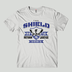0cbf2d108 Camiseta The Shield 2018 Back To Toronto Wwe Masculina