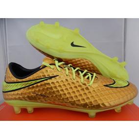 Hypervenom Dourada Neymar - Chuteiras Nike no Mercado Livre Brasil 7011471a5a59f