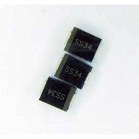 Ss34 Sk34 Diodo Schottky Smd 60v 3a Orginal