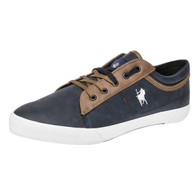 aa41d8f503f Tenis Casual Hombre American Polo Apwf16-11 Marino 25-28 Q4