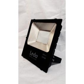 Refletor Holofote Led Branco Frio 200w Bivolt - Ledo