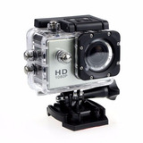 Mini Cámara Sports Sumergible 30m Full Hd 1080p Silver