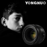 Lente Objetivo 50mm F/1.8 Yongnuo Nikon F - Inteldeals
