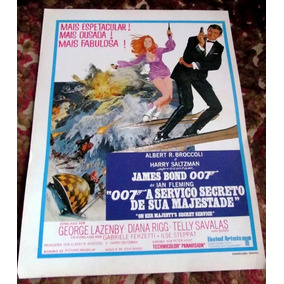 Sinopse 007 A Serviço De Sua Magestade James Bond Lazenby