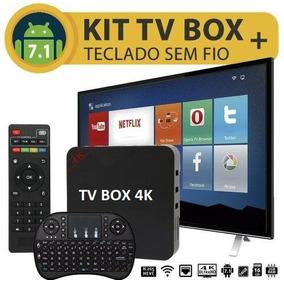 eda171091 Saldão Tvbox Mx4k 2gb Ram Já Configurada Tudo Free Liberado