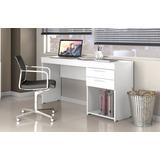 Escrivaninha Office 2 Gavetas (somente Rio De Janeiro) Leia