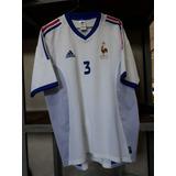 19356e0270ff6 Camisa Franca adidas Branca  3 Copa 2002 Coreia Japao Branca
