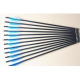 Kit Com 7 Flechas Em Carbono Para Balestras (20 Polegadas)
